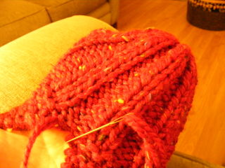 Granny slipper tutorial2008 008