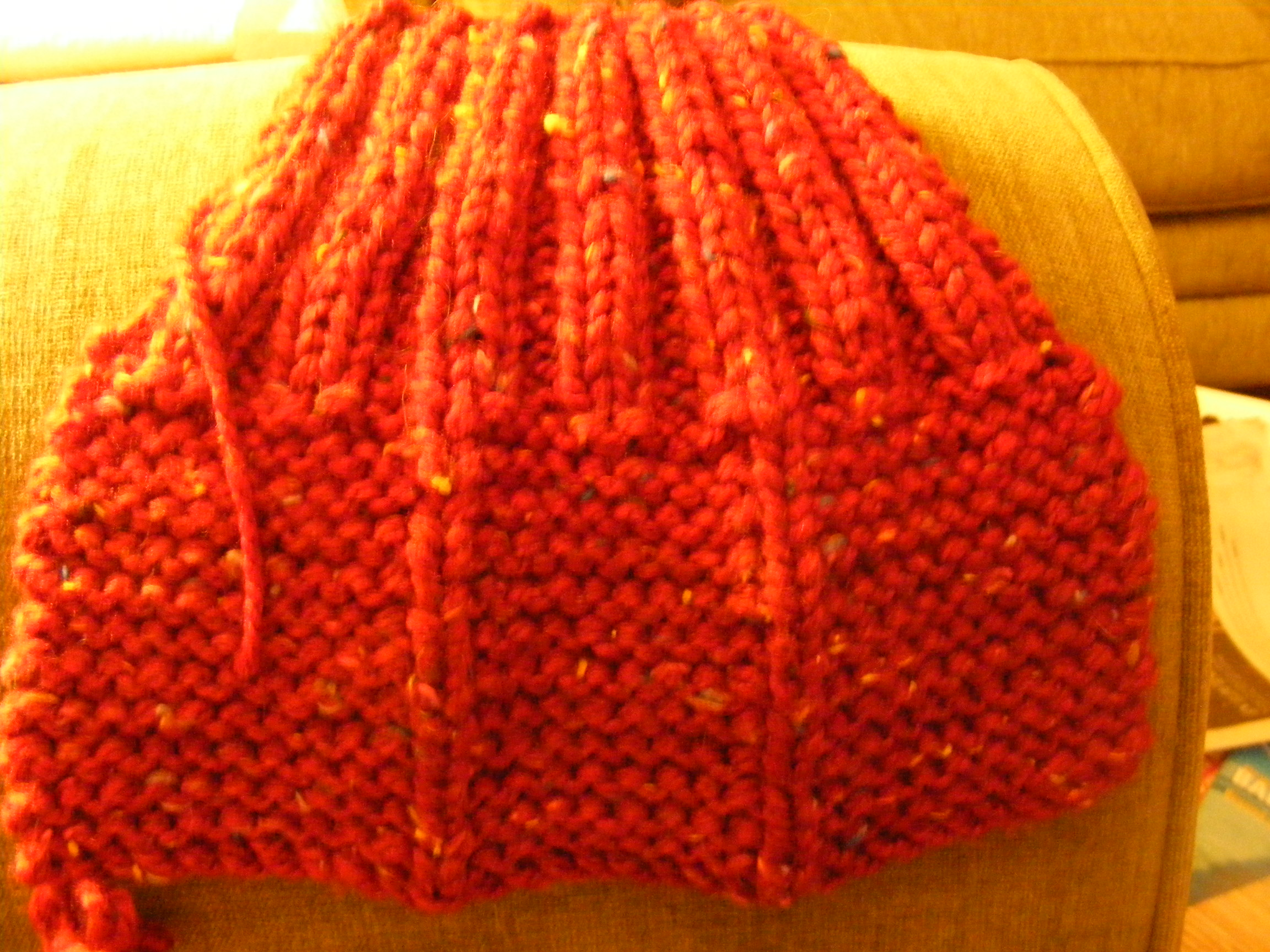 Knitting Grandma Slippers : Yours til niagara falls: knitted slippers made by granny