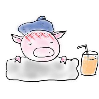 Sick_Pig_Cartoon